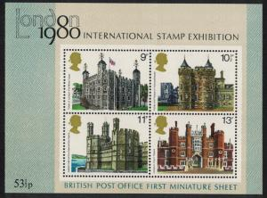 Great Britain British Architecture MS SG#MS1058 SC#834a