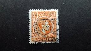 Jamaica 1938 -1952 King George VI Used