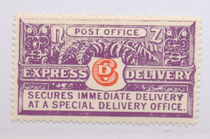 New Zealand Stamp Scott #E1, Mint Never Hinged, Perf 14x14.5 - Free U.S. Ship...