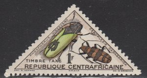 Central African Rep., Sc J4, Used, 1962, Phosphorus Virescens