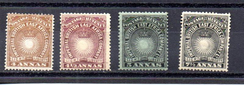British East Africa 19-22 MHH
