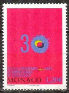 Monaco 2014 Spring of Art MNH**