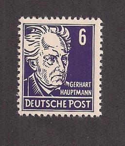 GERMANY - DDR SC# 123 F-VF MNH 1953