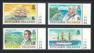 Pitcairn Millennium Commemoration 2nd issue 4v margins 11 SG#549-552 SC#501-504