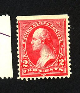 U.S. #252 MINT F-VF OG NH Cat $375