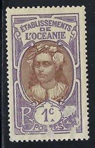French Polynesia 21 MOG T572-8