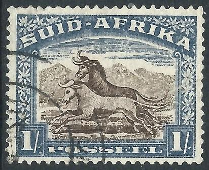South Africa, Sc #62b, 1sh Used