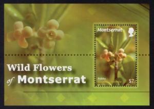 Montserrat Sc# 1252 MNH Wild Flowers of Montserrat (S/S)