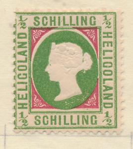 Heligoland Stamp Scott #9 (Reprint?), Mint/Unused No Gum - Free U.S. Shipping...