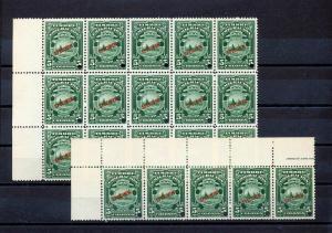 Costa Rica Emigration Specimens MNH (20 Stamps)GX 800s