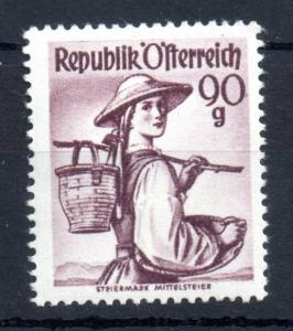 Austria 1948-52 Provincial Costumes 90g mint MNH SG1124
