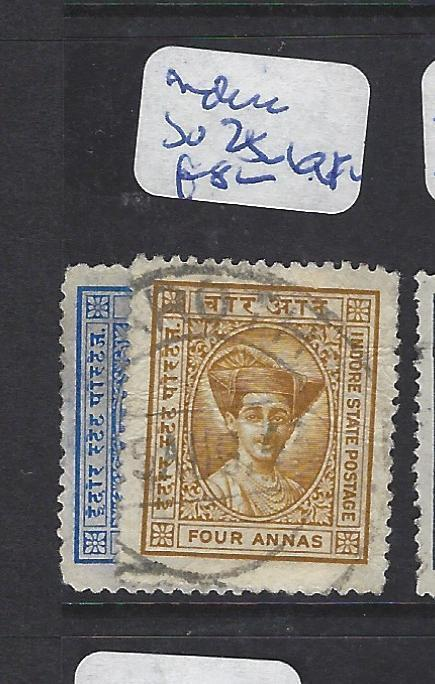 INDIAN NATIVE STATE INDORE   (P3012B)  SG  25-6   VFU