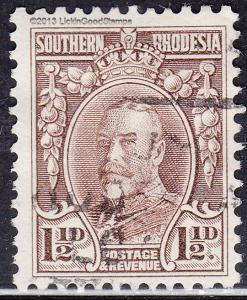 Southern Rhodesia 18 USED 1932 King George V