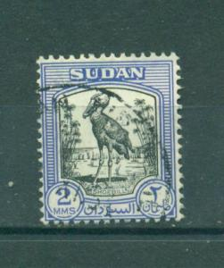 Sudan sc# 99 (2) used cat value $1.40