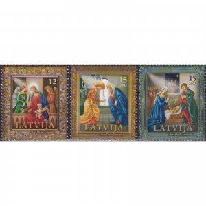 Latvia 2003 Christmas Stamps  (MNH)  - Christmas