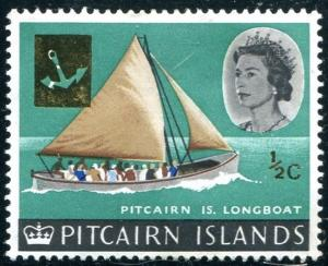 Pitcairn Islands Sc#72 MH (Pi)