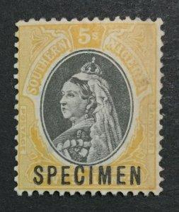 MOMEN: SOUTHERN NIGERIA SG #8s SPECIMEN MINT OG NH LOT #191481-523