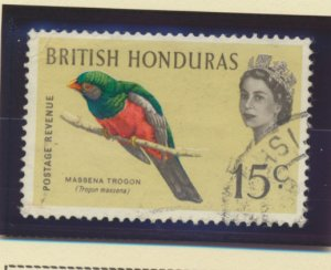 British Honduras Stamp Scott #167//173, Used, Six Different, Short Set