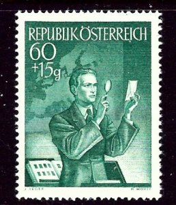 Austria B272 MH 1951 issue  penciled numbers on back    (ap3164)