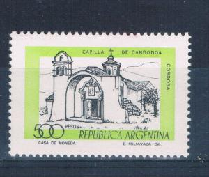 Argentina 1173 MNH Candonga Chapel (A0192)