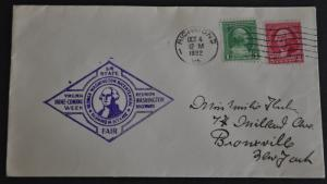 DYNAMITE Stamps: US 1932 Virginia State Fair – Cover