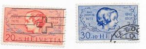 Switzerland #B87-B88 U) CV$6.05