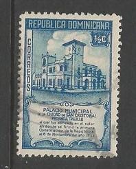 Dominican Republic 412 VFU 714D-7