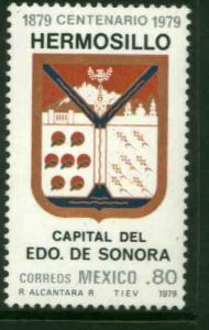 MEXICO 1177, 80¢ Centenary of Hermosillo as Capital of Sonora MINT, NH. VF.
