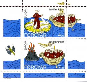 Faroe Islands  265a S/S MNH SCV $4.75