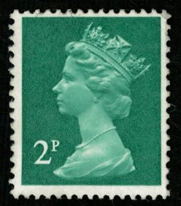 Queen, Great Britain 2p (T-4762)