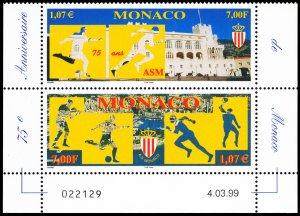 Monaco 1999 Scott #2120a Mint Never Hinged