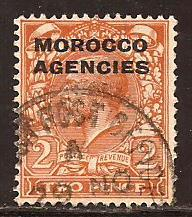 Great Britain Offices Morocco  #  212  used