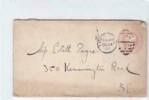 britain 1899  queen victoria stamps cover  ref r14662
