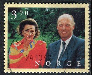 Norway; 1997: Sc. # 1158: O/Used Single Stamp
