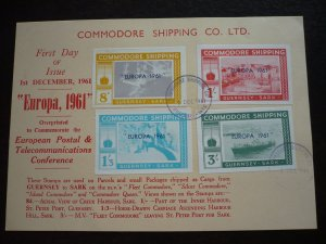 Europa 1961 - Commodore Shipping Co. Ltd. - Guernsey to Sark