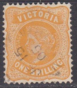 Victoria Sc #203 Used; Mi #141