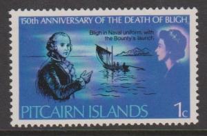 Pitcairn Islands Sc#85 MLH