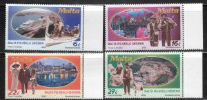 MALTA  Scott 1003-1006 MNH** 2000 set