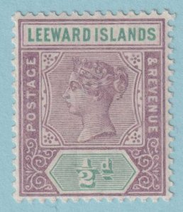 LEEWARD ISLANDS 1  MINT NEVER HINGED OG *  NO FAULTS EXTRA FINE
