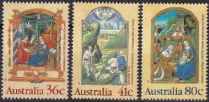 Australia  #1159-61  MNH CV $2.80 (A19591)