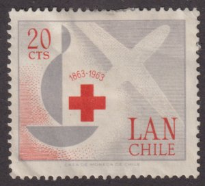 Chile C249 Centenary of the International Red Cross 1963