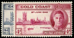 GOLD COAST SG133-134, 1946 Victory Set Perf 13½ x 14, M MINT. Cat £31.