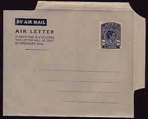 ADEN GVI 6a airletter fine unused