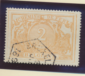 Belgium Stamp Scott #Q15, Used - Free U.S. Shipping, Free Worldwide Shipping ...