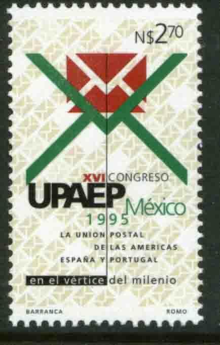MEXICO 1926, 16th Congress of UPAEP. MNH. VF. (69)