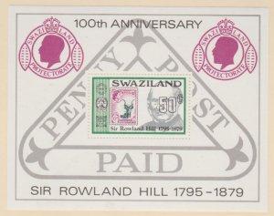 Swaziland Scott #332 Stamps - Mint NH Souvenir Sheet