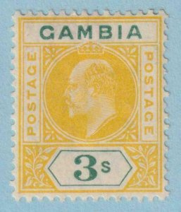 GAMBIA 64  MINT HINGED OG * NO FAULTS EXTRA FINE !