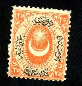 TURKEY #23 MINT FINE OG NH Cat $ 200