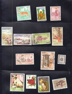 LAOS 2 STOCK PAGES SOUND COLLECTION LOT SOME MINT NH U/M $$$$$$$
