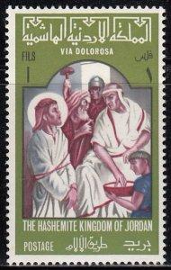Jordon, Sc 531, MNH, 1966, Christ, Religious